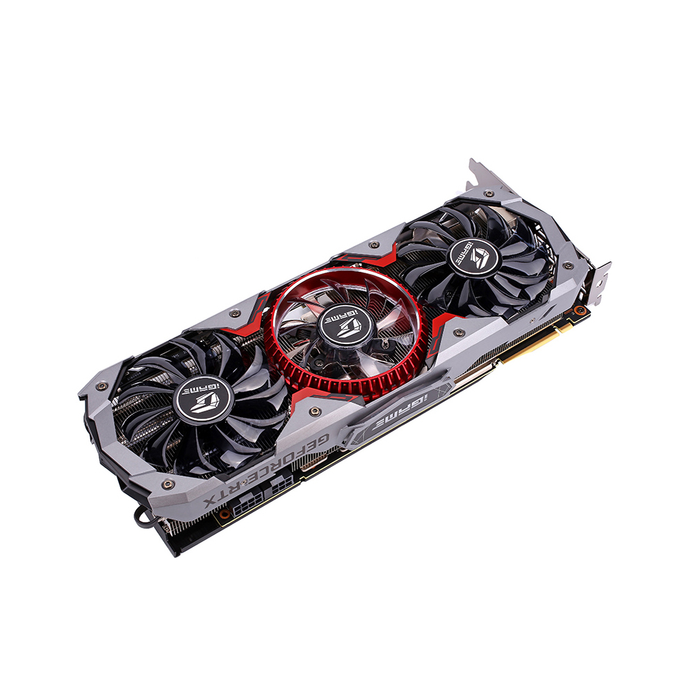 Colorful IGame GeForce RTX 2080 Super Advanced OC GDDR6 8G Graphic Card Plate Behind