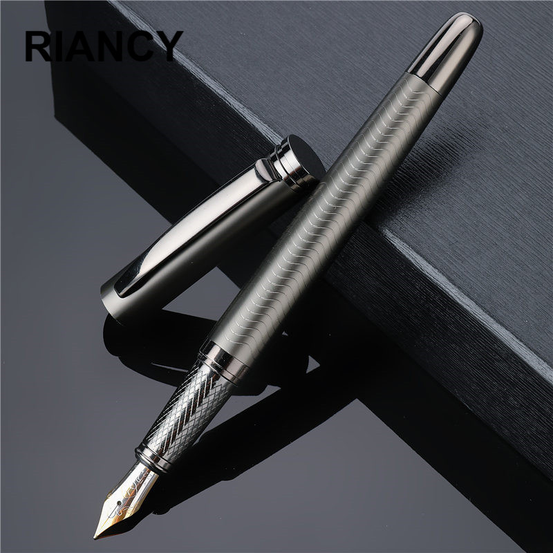 Luxury Ink Nib Fountain Pen High Quality Business Writing Signing Calligraphy Pens Gift Box Office Stationary Supplies 03924
