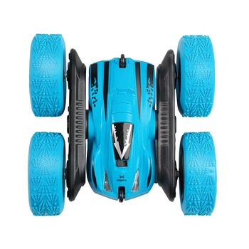 RC Cars Remote Control Car 2.4GHz Electric Race Stunt Car Double Sided 360° Rolling LED Headlights RC 4WD Off Road Vehicle image