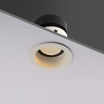 Aisilan راحة LED الشمال مكافحة الضباب النازل زاوية قابل للتعديل المدمج في بقعة ضوء LED AC90-260V 7W للإضاءة في الأماكن المغلقة 1