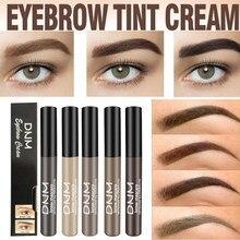 1PC Maquiagem Dos Olhos Brow Gel Café Cor Marrom Preto Kit Mascaras Eye Brow Matiz Sobrancelha Sobrancelhas Gel Tinta À Prova D' Água