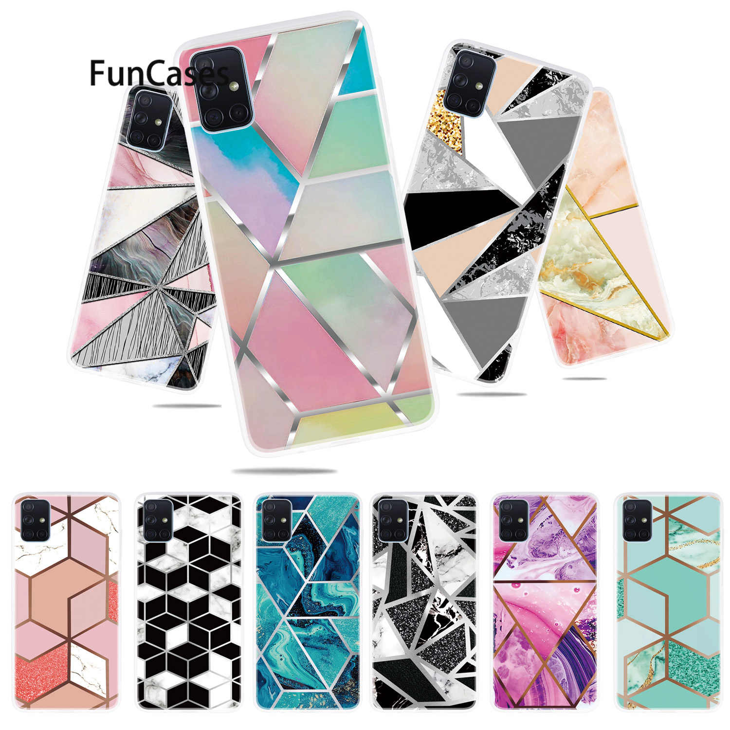 Fashion Phone Etui Cases For cellular Samsung A71 Cellular Floral Coverage sFor Samsung Galaxy funda A71 Soft Silicone Shell