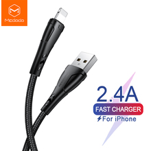 Mcdodo USB Cable for IPhone 11 Pro X Xs Max 2.4A Fast Chargi