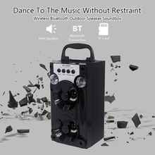 MS 206BT المتكلم راديو FM اللاسلكية المحمولة دعم TF بطاقة مشغل موسيقى Aux دعم بلوتوث في الهواء الطلق