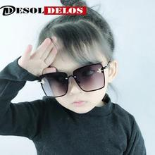 2019 Oversize Square Kids Sunglasses Celebrity Sun Glasses Boys Girys Superstar Luxury Brand Designer Female UV400