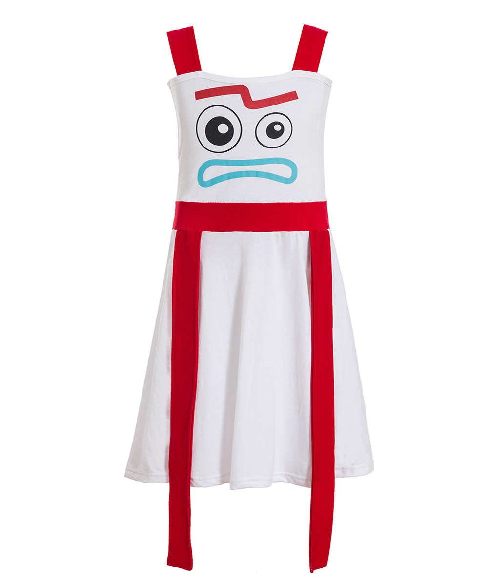Toy Story 4 Forky Costume For Children Forky Woody Bunny Alien Buzz Lightyear Potato Cartoon Cosplay  Hallowen Dresses