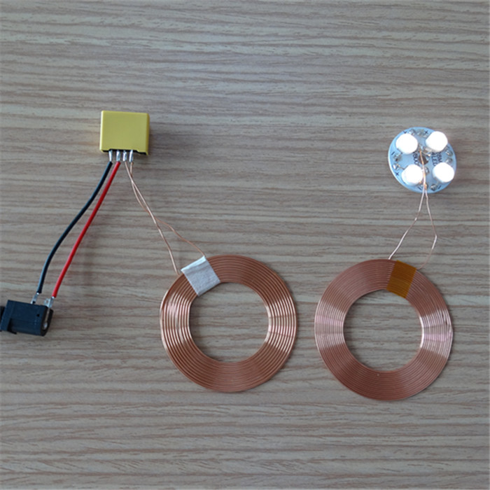 Wireless Power Supply Module For Long-distance DC Magnetic Levitation