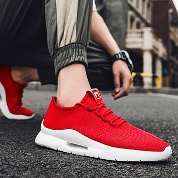 2020 New Summer Breathable Mesh Sports Trendy Shoes Sports Shoes Men's Casual Soft Breathable Wading Comfortable Running Shoes