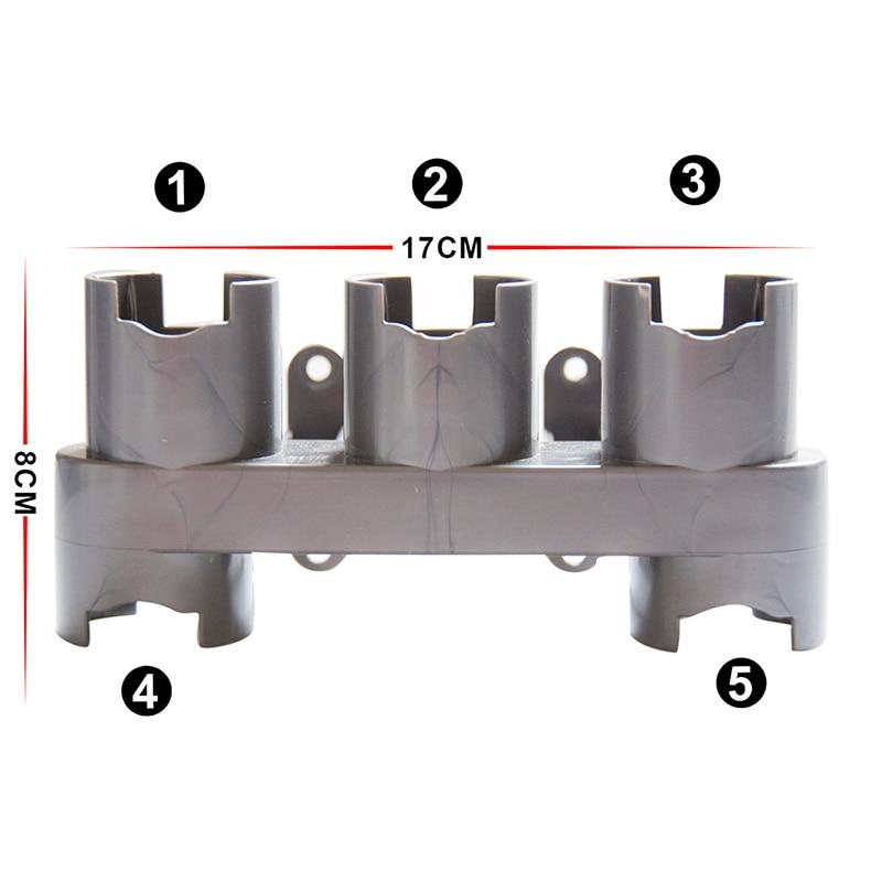 Accessories Storage Equipment Shelf For Dyson V7 V8 V10 Absolute Brush Tool Nozzle Base Bracket Vacuum Cleaner Parts Storage