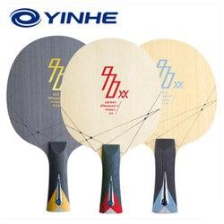 YINHE 970XX серия лезвие для настольного тенниса C.T.T.A. YINHE Профессиональный 5-слойный деревянный с 2-слойным Карбоновым волокном для пинг понга ле...
