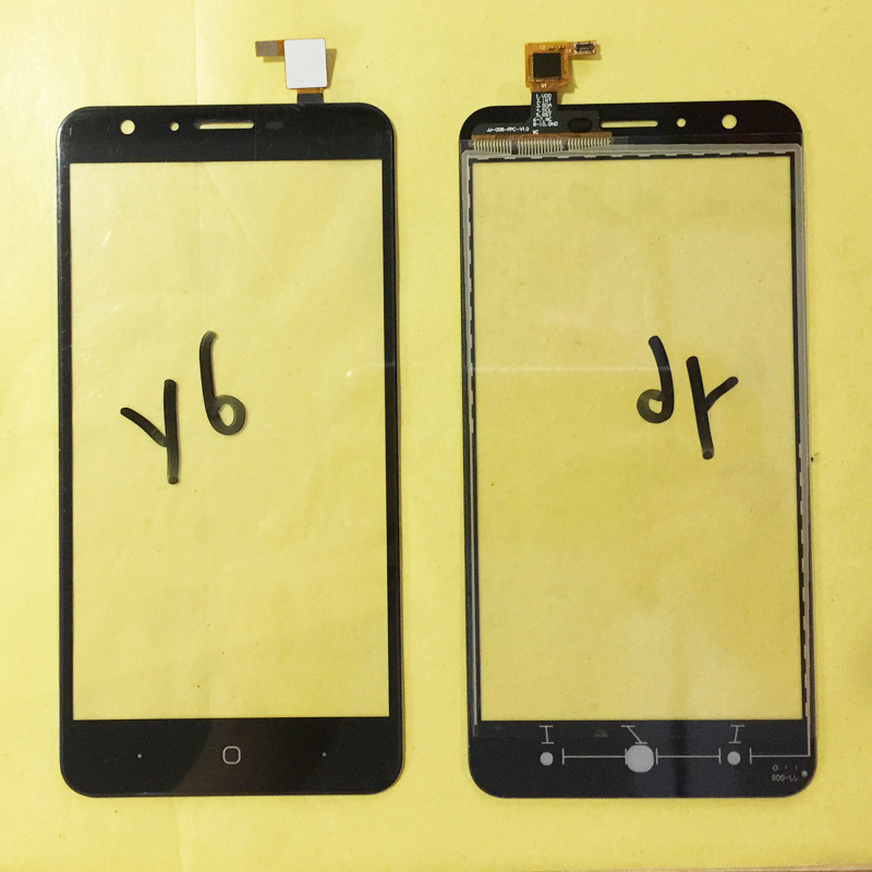5.5 Inch Phone Touchscreen Sensor For Doogee Y6 Y 6 Touch Screen Digitizer Touch Panel Front Glass Touchpad