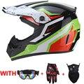 Мужской мотоциклетный шлем с полным лицевым покрытием  мотоциклетный шлем для верховой езды из АБС-пластика  Adventure  мотоциклетный шлем в гор...