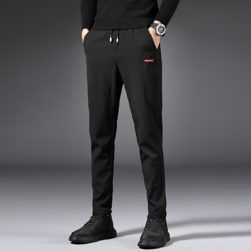 968 Common Style Autumn Quick-Dry Casual Pants Men Slim Fit