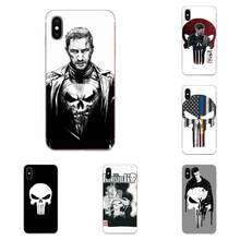 The Punisher Thomas Jane TPU Bags Cases For Sony Xperia Z Z1 Z2 Z3 Z4 Z5 compact Mini M2 M4 M5 T3 E3 E5 XA XA1 XZ Premium(China)