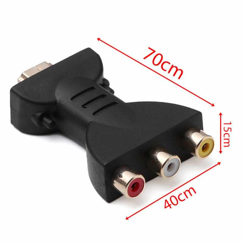 HDMI AV スケーラーコンバーターアダプタ HD ビデオコンポジット変換 Hdmi RCA AV/CVSB L/R ビデオ 1080 1080P ミニ HDMI2AV サポート NTSC Pal 新