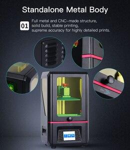 Image 2 - ANYCUBIC Impresora 3D Photon, dispositivo con pantalla LCD 2K de 5,5 pulgadas, opera sin conexión, imprime con resina de corte rápido UV