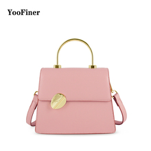 Fashion Women Brand Design Small Square Shoulder Bag MiNi PU Leather Messenger Bags New Female Handbags Tote Pink Green Yellow pink pu zip design shoulder bags