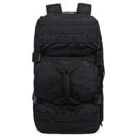 Large Capacity Outdoor Climbing Backpack Military Tactical Pack Rucksack Shooting Camping Bag Molle System Trekking Daypack