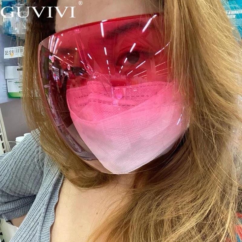 Men's Women's Faceshield Protective Glasses Goggles Safety Glasses Anti-Spray Mask Protective Goggle Glass Sunglasses 4
