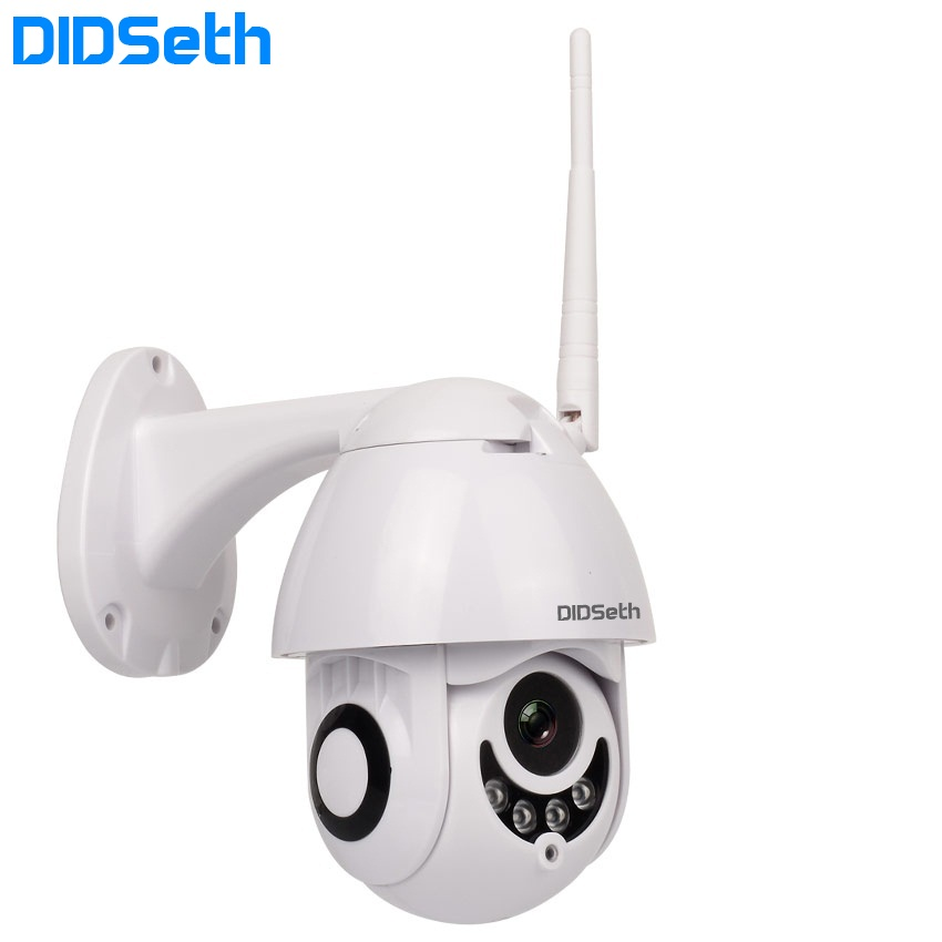 DIDSeth WIFI Camera Outdoor PT IP Camera 1080p Wi-fi Dome CCTV Security Cameras IP Camera WIFI Exterior 2MP IR Home Surveilance
