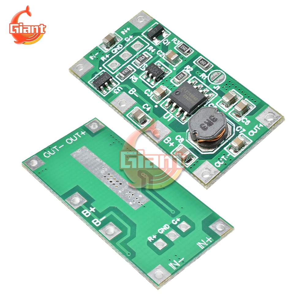 5V 1A UPS Uninterruptible Power Supply Module Step Up Reverse Router 18650 Lithium Battery with Protection Charging Boost Board