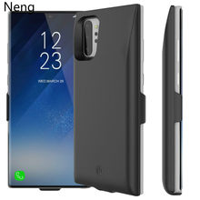 Neng7000mAh Battery Charger Case For Samsung Note10 Pro Power Bank Charging Case Ultra Thin Powerbank Charger For Samsung Note10(China)