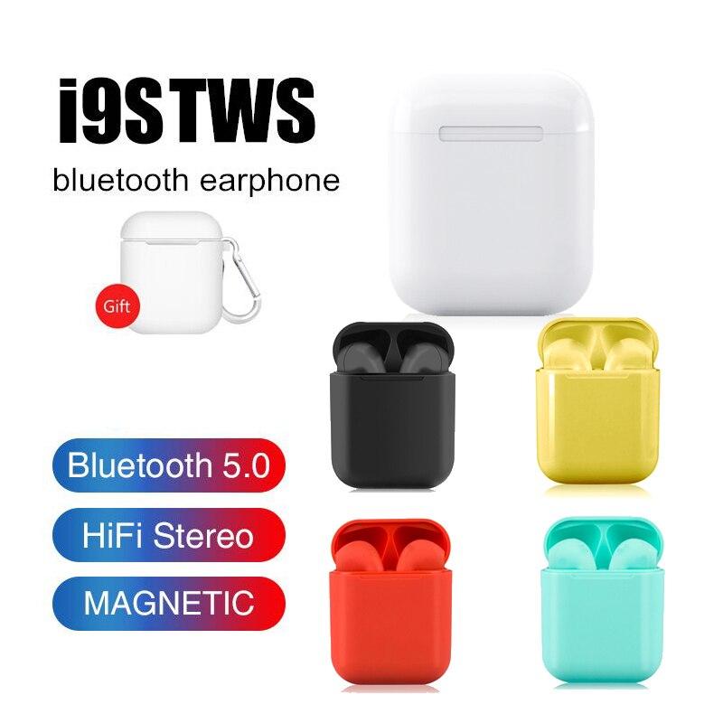 I9s tws colorido sem fio mini bluetooth fones de ouvido sem fio estéreo portátil bluetooth