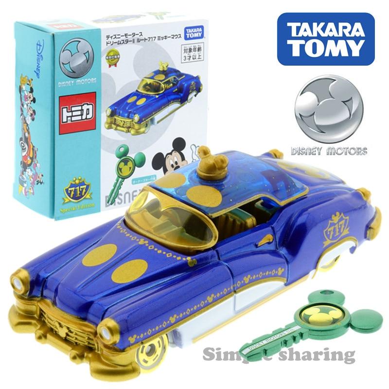 Key* TAKARA TOMY TOMICA Disney Motors Dream Star II Route 717 Mickey Mouse