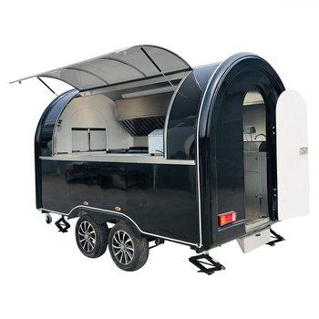 custom made food truck concession food trailer Mobile Food Truck Concession Food Trailer  340x200x240cm Black