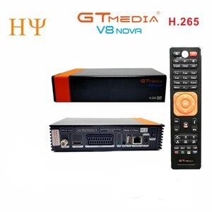 Image 2 - 3PCS/Lot Gtmedia V8 NOVA DVB S2 satellite receiver Built in wifi support H.265 freesat V8 super set top box power vu