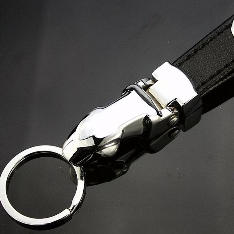 1 шт. брелок с логотипом автомобиля с леопардовой головкой, автомобильный брелок, аксессуары для ключей для Mercedess Benzs W203 W204 W205 W211 W213 W176 SLK R171 AMGs