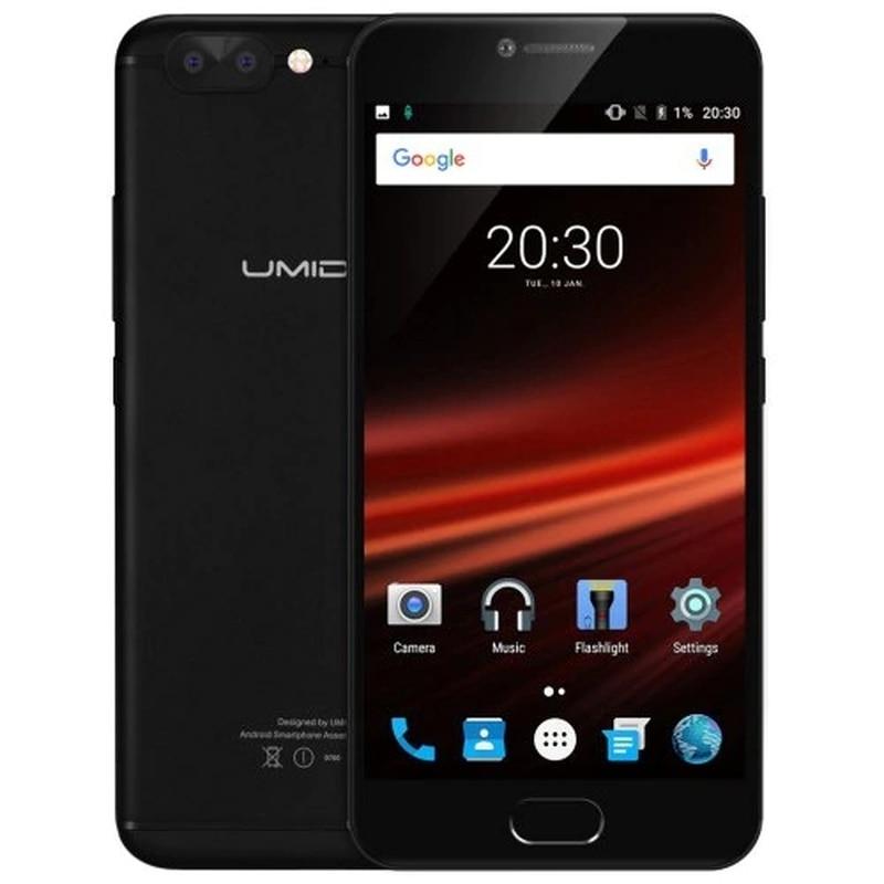 "Umidigi z1 pro smartphone 6gb ram 64gb rom 5.5 ""android 7.0 mtk6757 octa núcleo 2.3ghz 4000mah impressão digital 13.0mp telefone móvel"