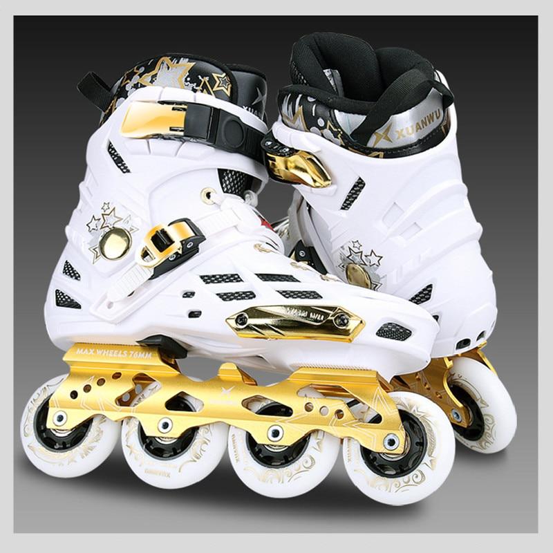 Sapatos de Skate para Jovem Patins para Seba Slalom Recomendar Adulto Inline Menina Diária Rua Escova Cityrun Fsk Mod. 83238