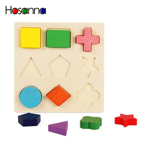 Image 3 - Wooden Geometric Shapes Sorting Math Montessori Puzzle Preschool Learning Educational Game Baby Toddler Toys for Children