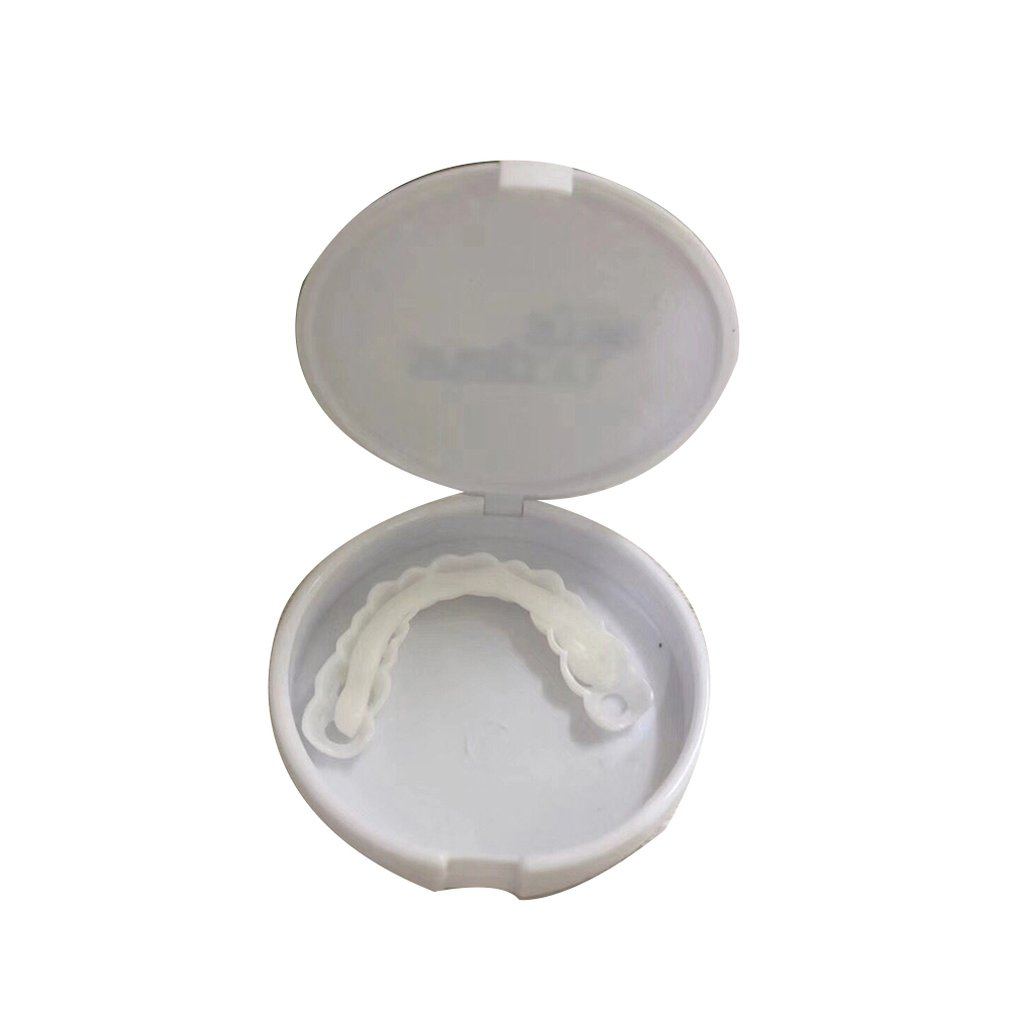 Whitening Durable Adaptable Adult Second Generation Silicone Simulation Teeth Upper Teeth Dentures Braces