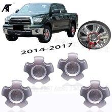 """4 sztuk koła nakładki środkowe dla modeli """"14 17 Toyota Tundra 4260B 0C050 piasty kołpaka koła centralnego"""