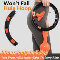 Smart Sport Hoop Fitness Equipment Not Drop Detachable Adjustable Thin Waist Abdominal Exercise Gym Hoop Home Training