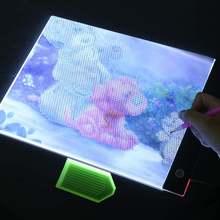 Ультратонкий 35 мм a4 светодиодный светильник для планшета применяется