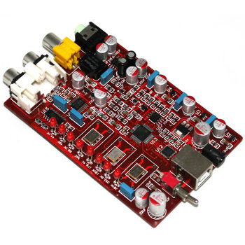 bluetooth 5 0 receiver board dac pcm5102 support analog input and output for active speakers amplifier free shipping XMOS PCM5102 TDA1308  USB DAC Decoding Board support 32bit 384K