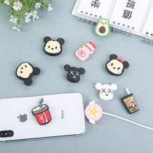Sailor Moon Cartoon Cable Winder Protector for iPhone Desktop Kawaii Cable USB Cable Charger Cord Headphone Protector hot sell