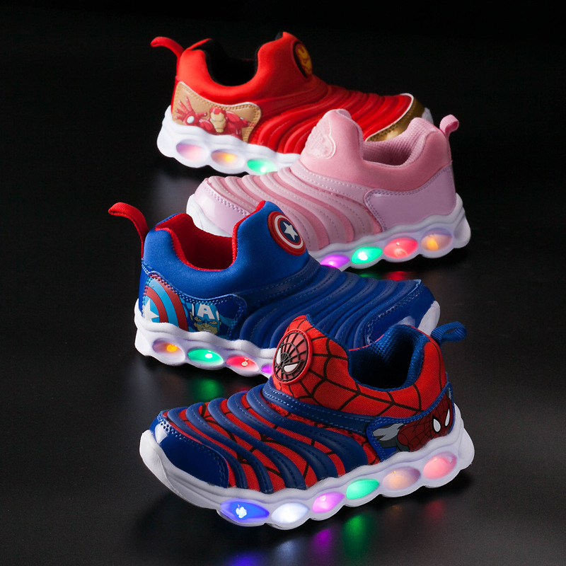 Cartoon Casual Leisure Children Sneakers Cool Hot Sales Cute Kids Casual Shoes Soft High Quality Baby Girls Boys Shoes Footwear