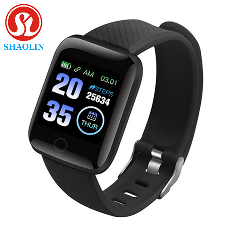 SHAOLIN Smart Bracelet Watch Heart Rate Blood Pressure Monitoring Fitness Tracker Man Woman Couple Smartwatch for apple Android