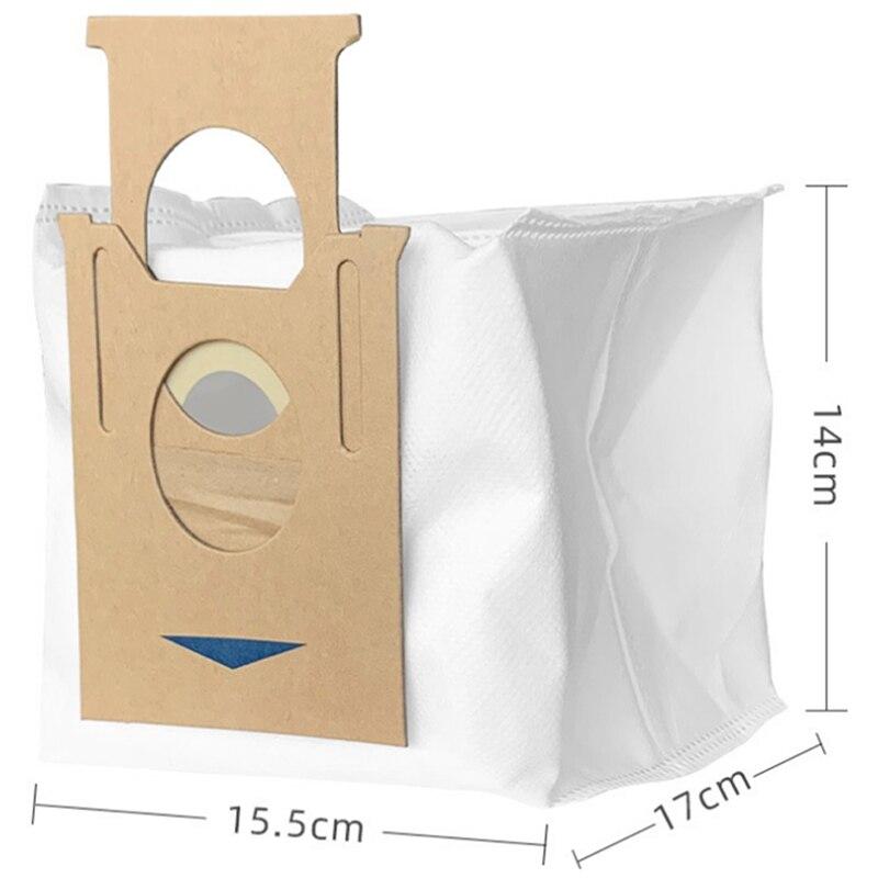 10 sacos de filtro vacuo substituicao pacote 01