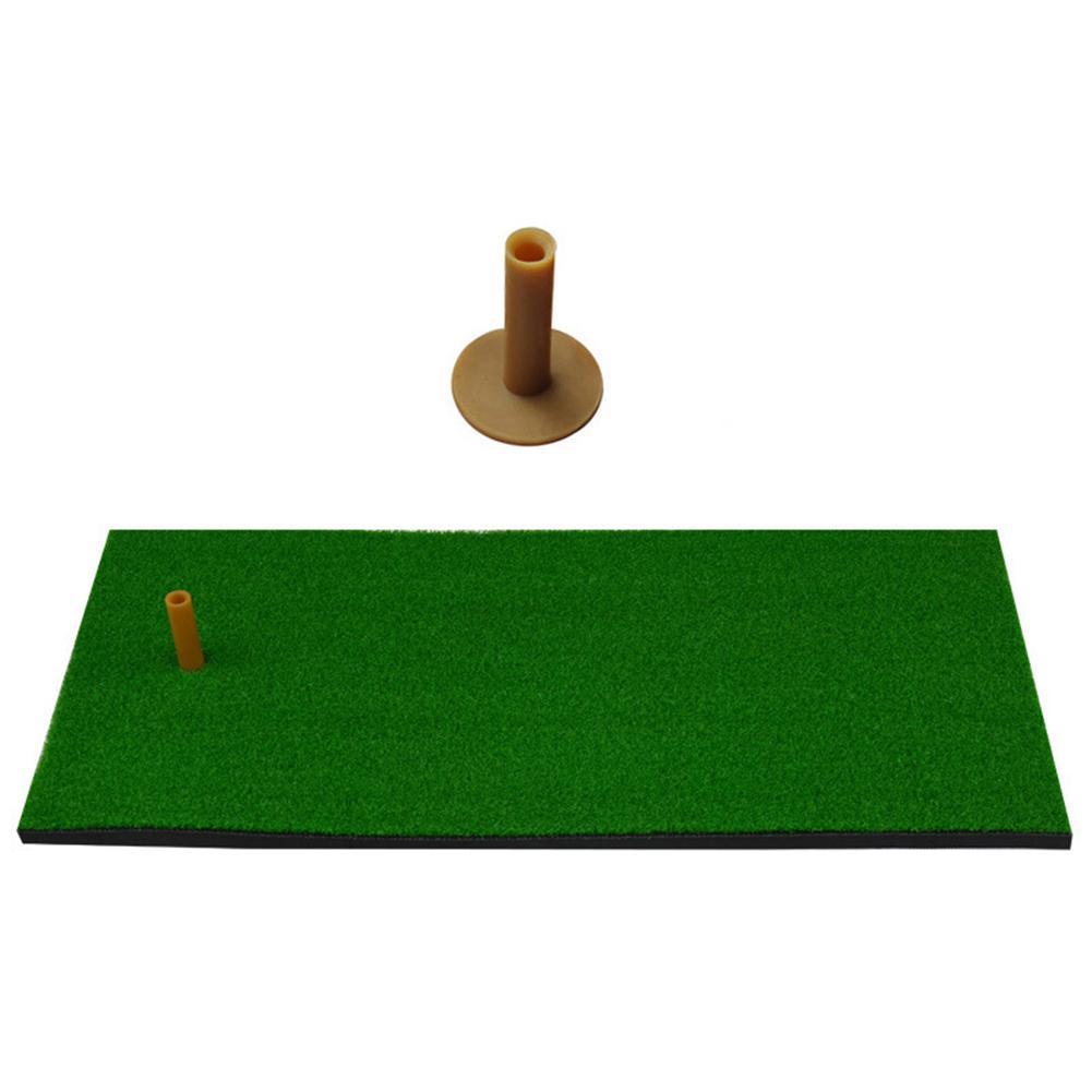 60x30cm Outdoor Indoor Golf Mat Training Practice Hitting Faux Grass Pad Cushion Golf Mat Training Practice Pad Cushion Cushion