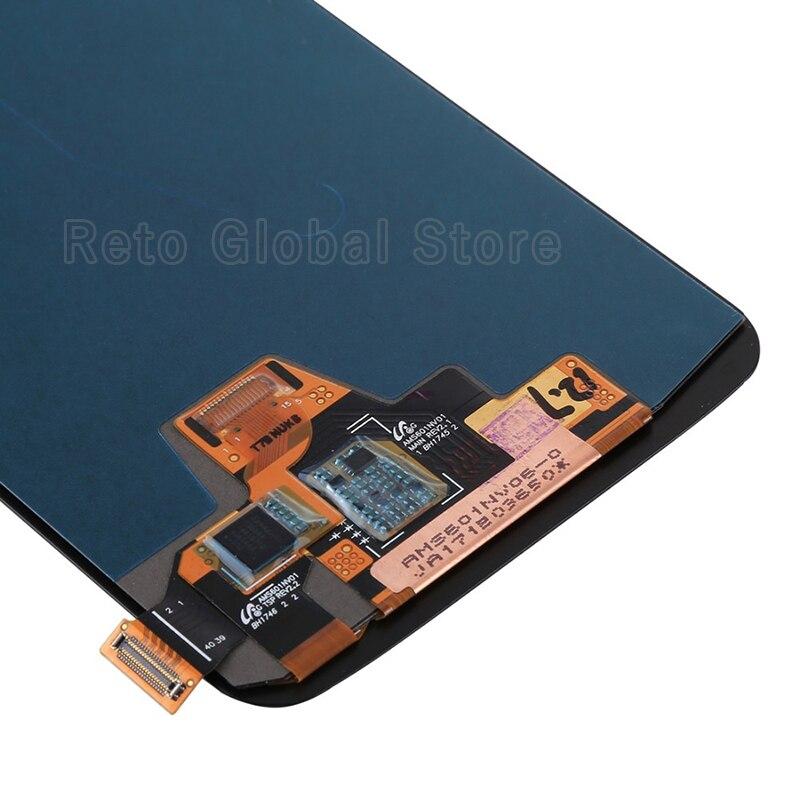 Для S6 edge plus lcd без битых пикселей Белый Синий Серый Золотой протестированный AMOLED сенсорный экран G928F Мобильный телефон ЖК - 6