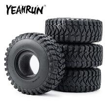 Yeahrun rc carro atualizar parte borracha 2.2 polegada beadlock roda pneus para axial wraith 90018 rr10 1/10 rc rastreador carro