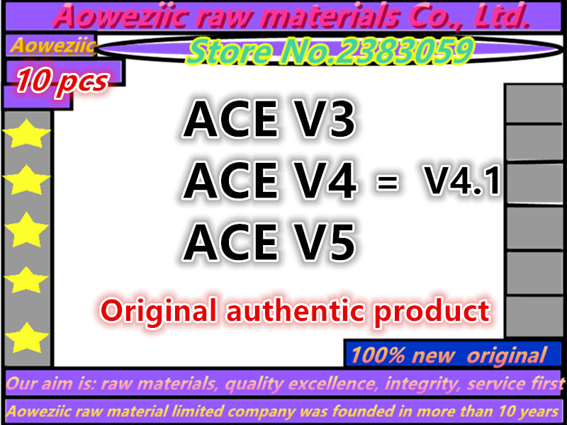 Aoweziic 100% New Original  For X360 ACE V3 / ACE V4 / ACE V5 ACE-V3 ACE-V4 ACE-V5 ( Original Authentic Product )