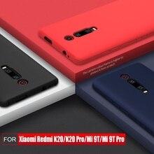 Voor Xiaomi mi 9t pro CASE Nillkin Siliconen GLADDE Beschermende Achterkant RedMi K20 pro case 6.39
