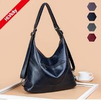 2019 Luxury Brand Women Leather Handbags Lady Large Tote Bag Female Pu Shoulder Bags Blue Bolsas Handbag Femininas Sac A Main