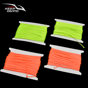 Replacement 2mm Flat Line for Scuba Diving Finger Reel Lightweight Durable High Strength Corrosion Resistance